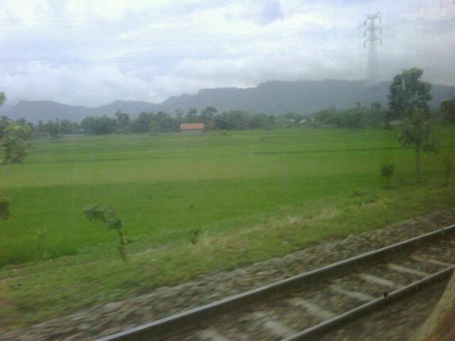 railway to jogja