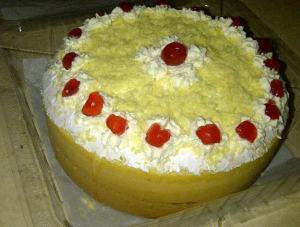 sponge cake buat mbak nita