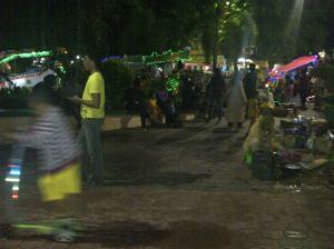 Suasana alun-alun kota Sumenep