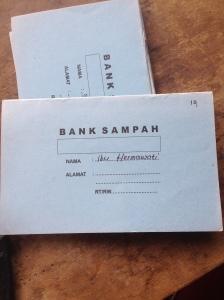 Tabungan bank sampah