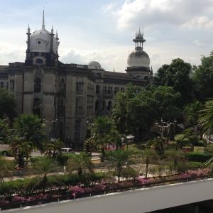 view dari balkon masjid negara